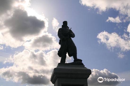 Secchu Kogun Sonan Distressed Memorial Statue1