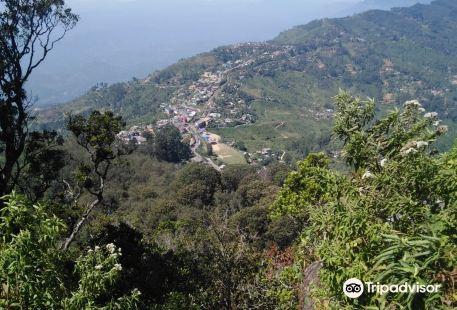 Prabhawa Mountain Day View Point Haputale