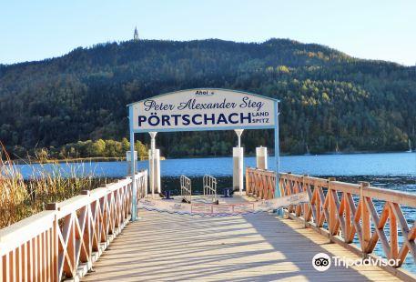 Poertschach Landspitz Peter Alexander Steg