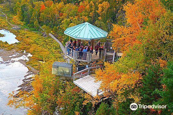 蒙特倫西瀑布公園 Parc de la Chute-Montmorency1