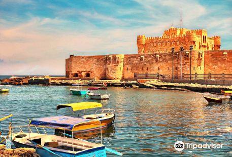 Citadel of Qaitbay (Lighthouse Ruins)