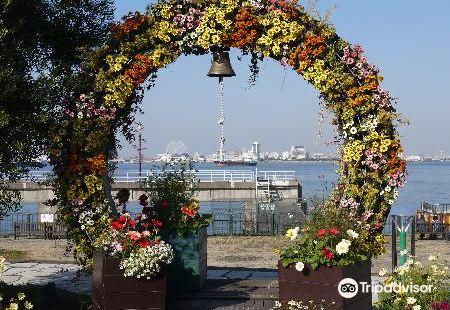 Nagoya Port Wildflower Garden Blue Bonnet