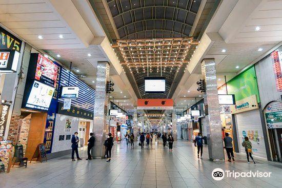 Okaido Shopping Street1