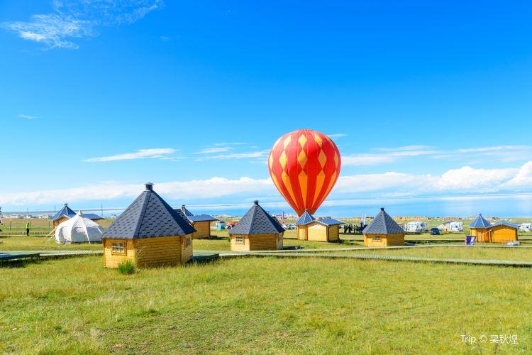 青海湖熱氣球1