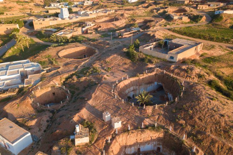 柏柏爾人洞穴民居4