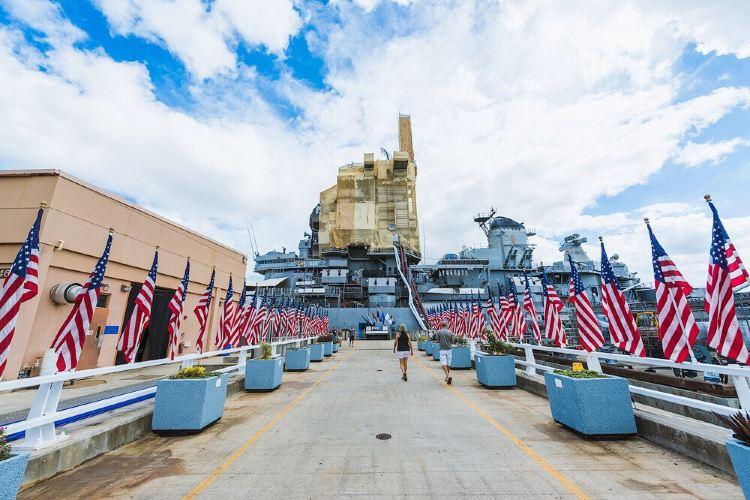 密蘇里號戰艦紀念館3