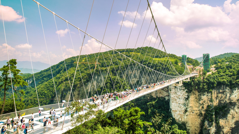 Zhangjiajie Grand Canyon Glass Bridge