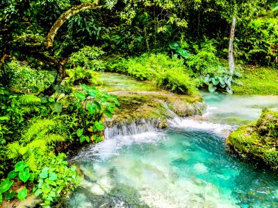 Mele Cascade Waterfalls