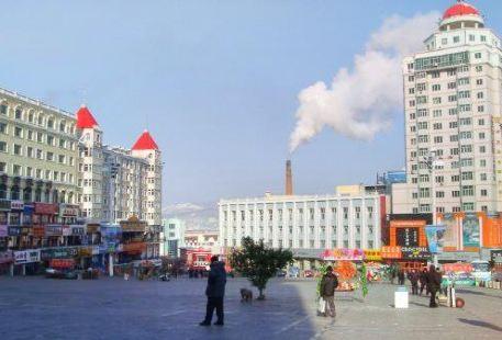 綏芬河邊貿市場