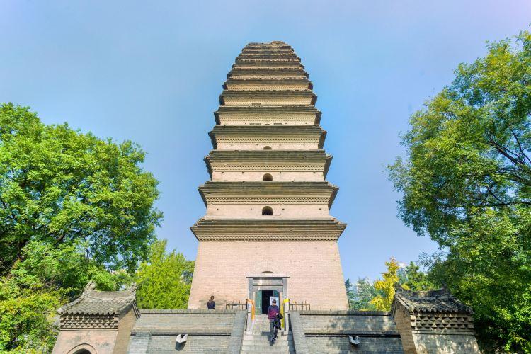 Little Wild Goose Pagoda (Jianfu Temple)