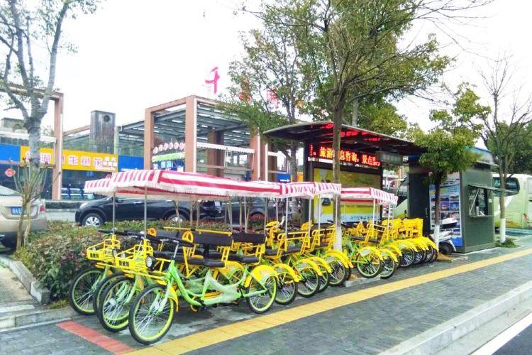 첸다오 호수 자전거 일주1