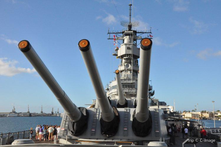 密蘇里號戰艦紀念館1