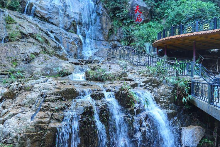 Qingyuan Tianzishan Waterfall4