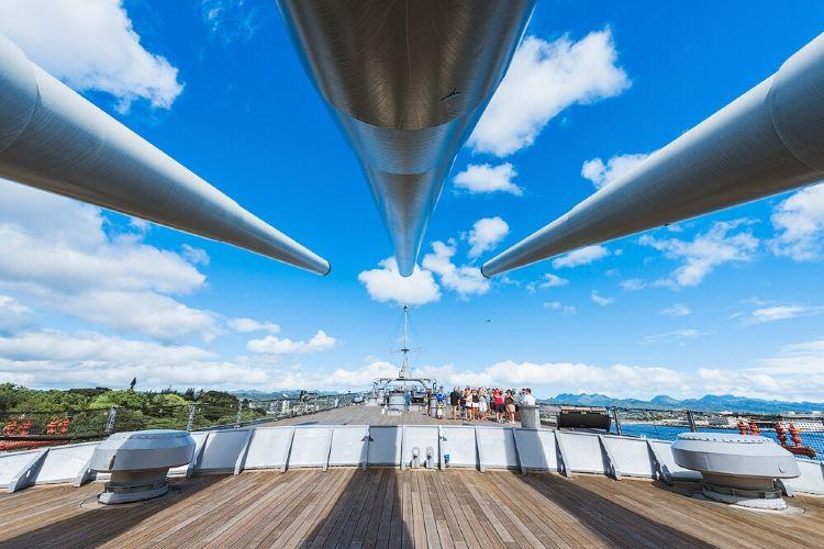 密蘇里號戰艦紀念館2