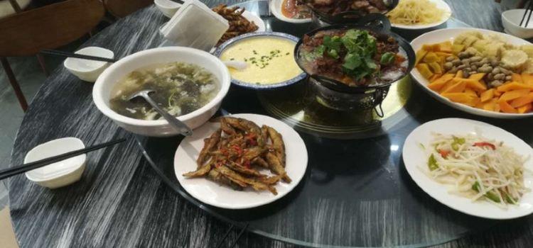 金寨天堂寨禦水山莊·柴火時光生態餐廳1