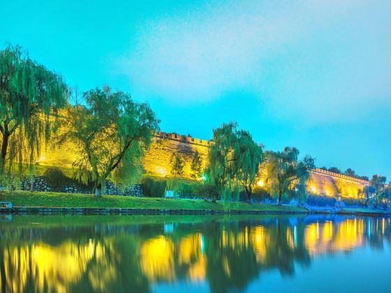 襄陽古城牆護城河
