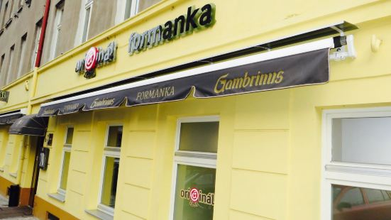 Restaurace Formanka Original 1869