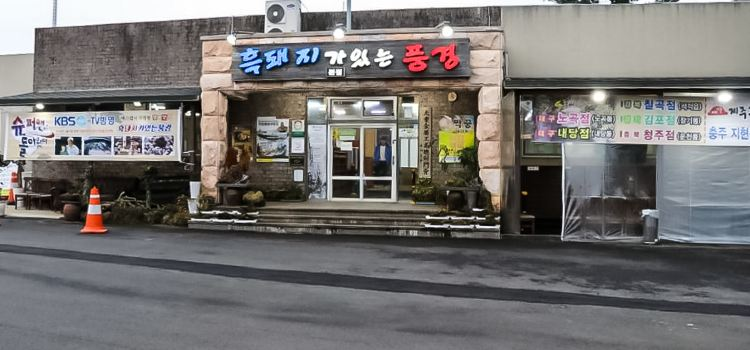 Scenery with Black Pig (Main Store)