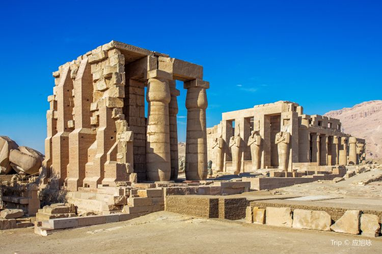 Ramesseum (Mortuary Temple of Ramses II)1