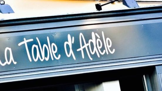 La Table d'Adele