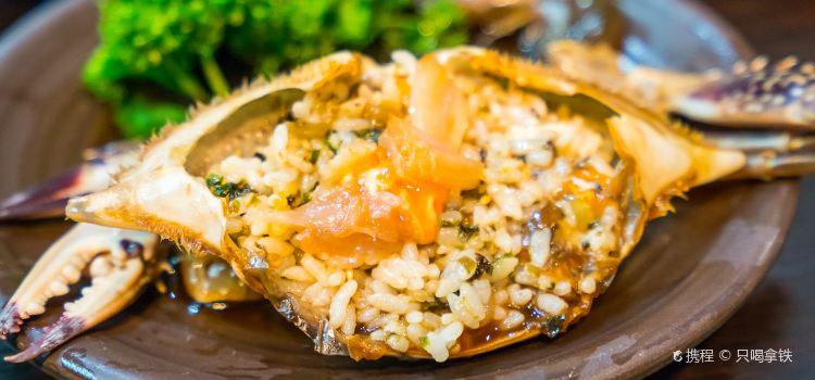 Salty crab sauce