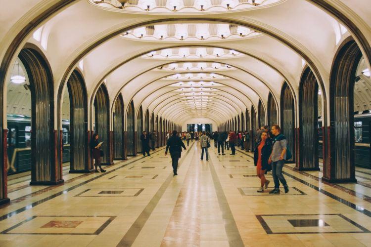 Mayakovskaya metro station2