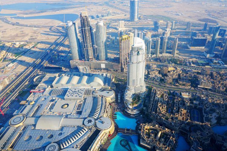 At the top Burj Khalifa4
