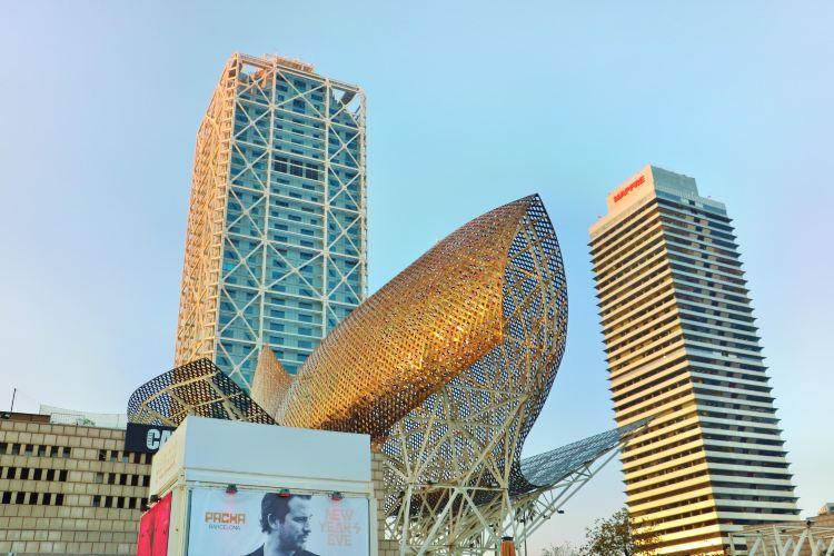 Gold Fish Sculpture