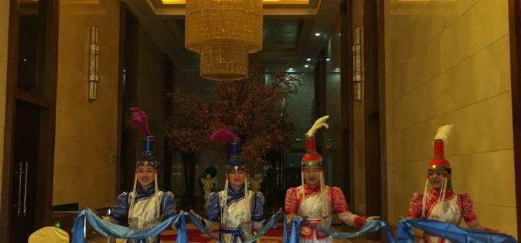 阿拉善大酒店-中餐廳1