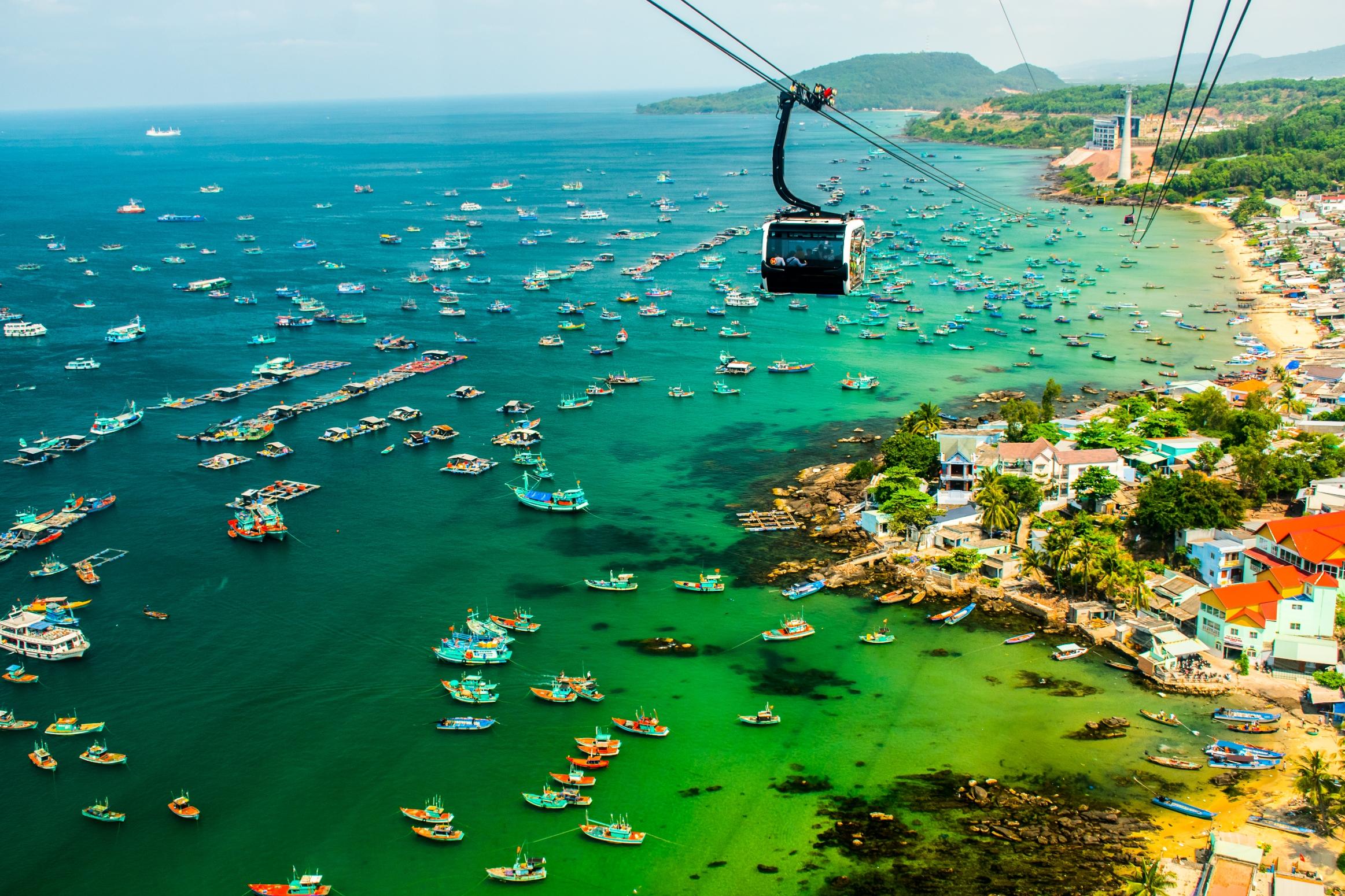 富國島香島公園跨海纜車