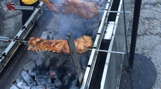 蒙古巴圖魯烤羊腿燒烤2