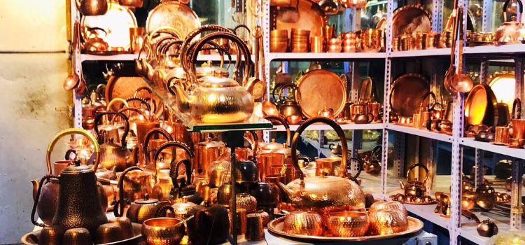喀什老城夜市美食廣場1