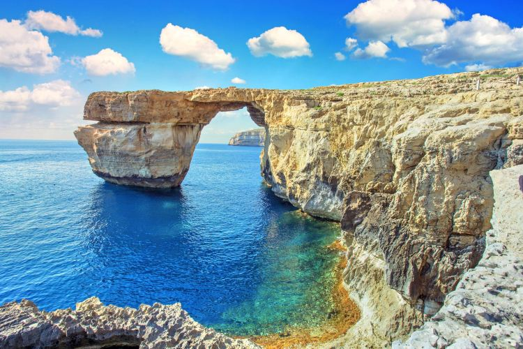 Azure Window Ruins