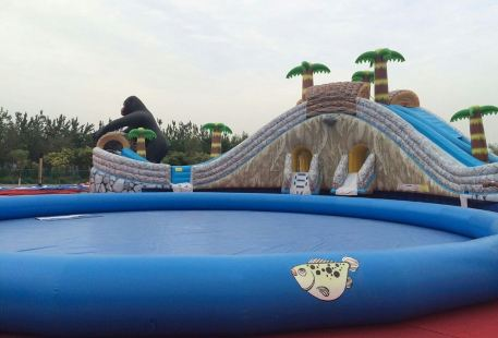 Yinchuanshi Tiyu Center Water Amusement Park
