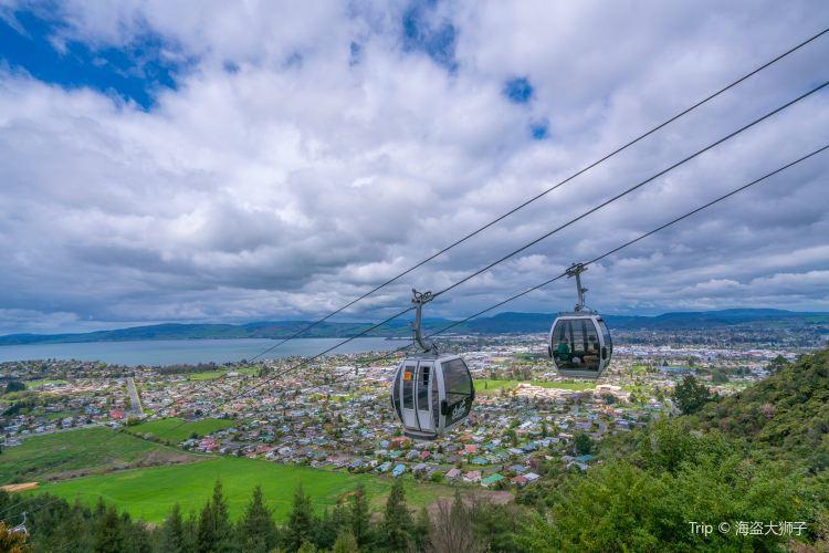羅托魯瓦Skyline天空纜車1