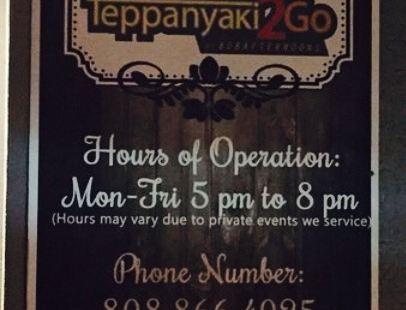 Teppanyaki 2 Go