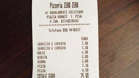 "Pizzeria ""Zero Zero"""