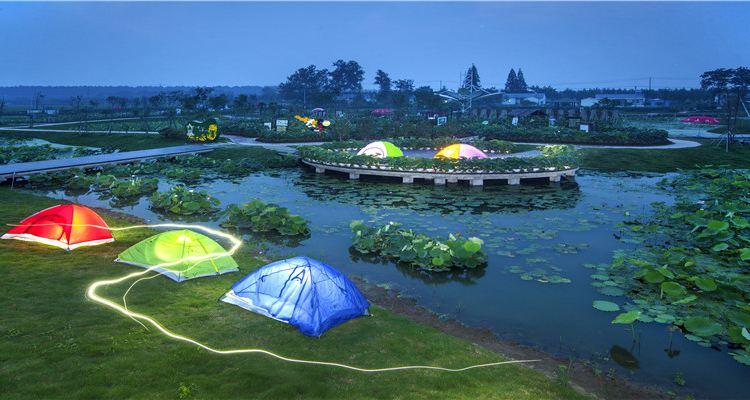 Huai'an Jinhu Hehuadang Scenic Area2