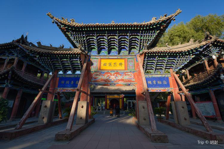 Zhangye Buddhist Temple2