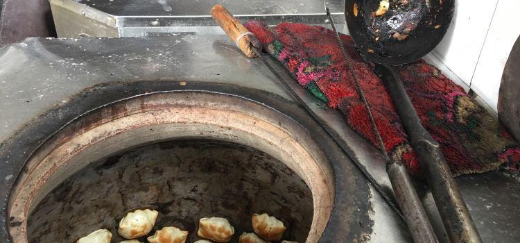 艾山江烤包子蔥花餅1