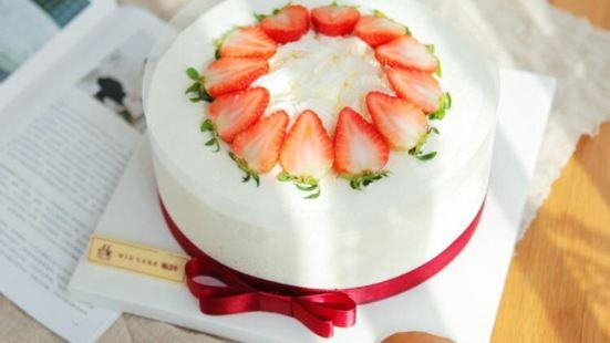 斑點牛生日蛋糕