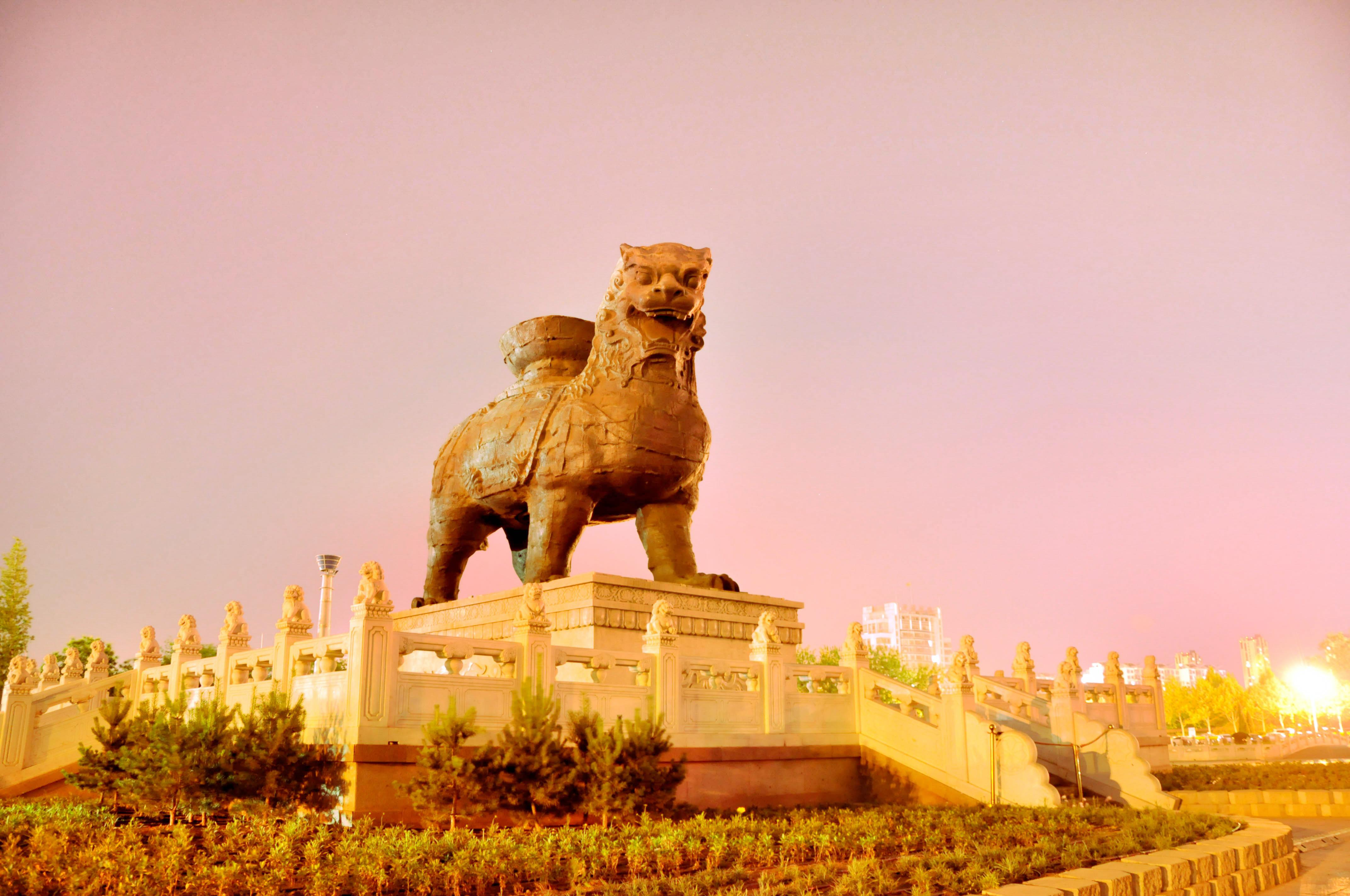 Cangzhou Lron Lion and old city site park