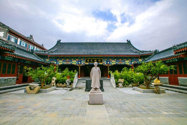 Zhengbanqiao Memorial Hall3