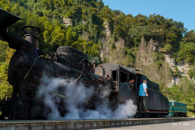 Jiayang Little Steam Train2