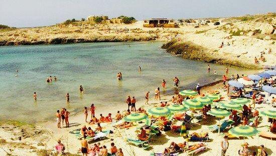 All'Isola di Lampedusa