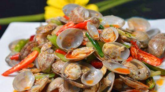 我愛花甲海鮮米線