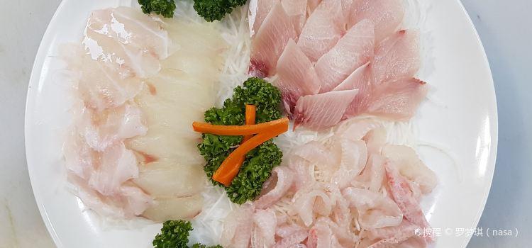 冬柏島生魚片