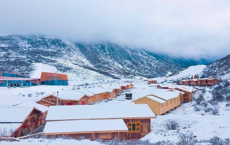 Zhegushanzirangongyuan Ski Field3