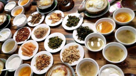老字型大小砂鍋飯