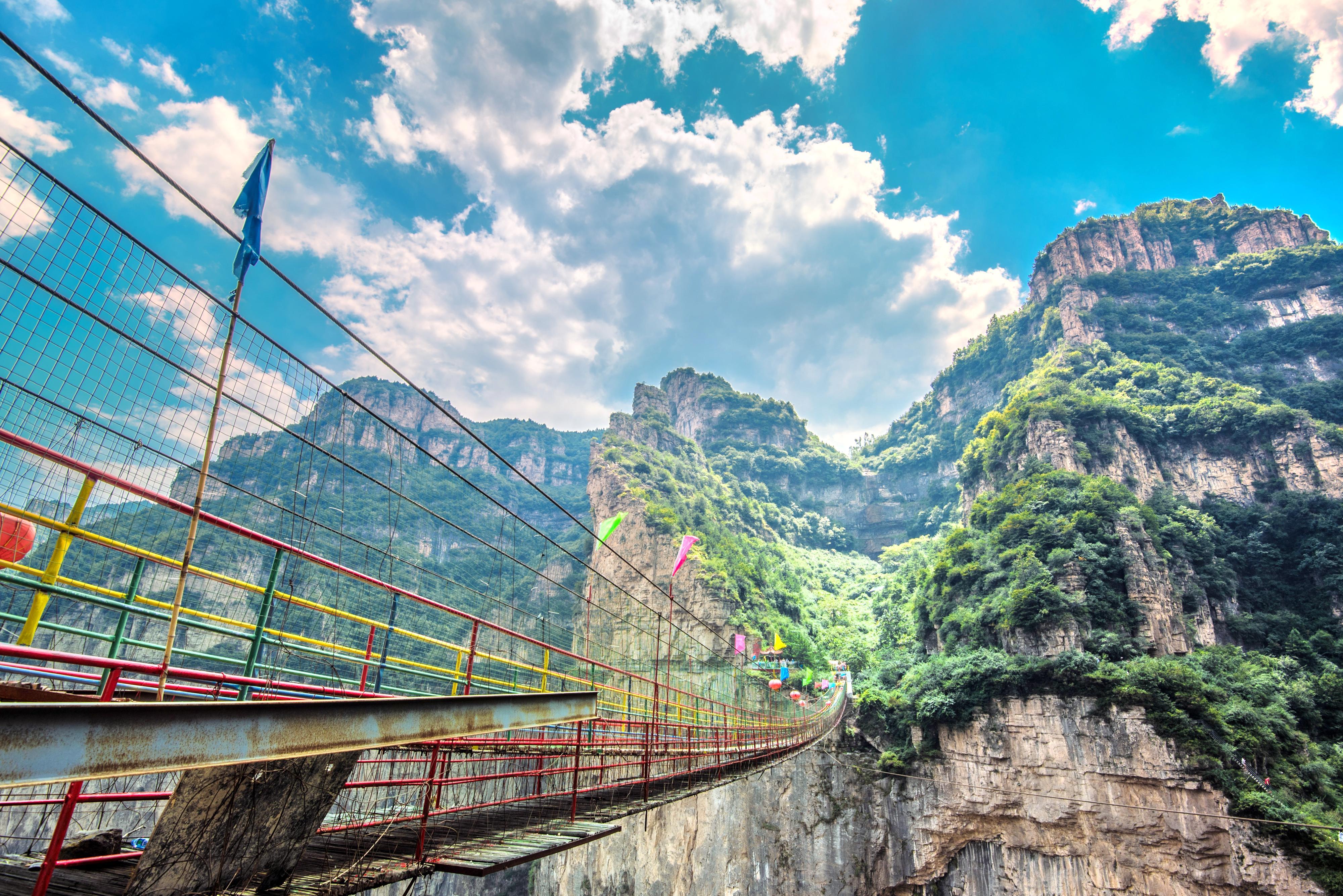 Tianji Mountain Scenic Area